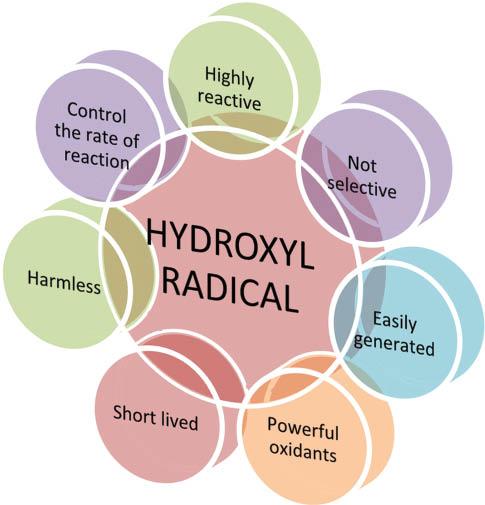 hydroxyl radicals
